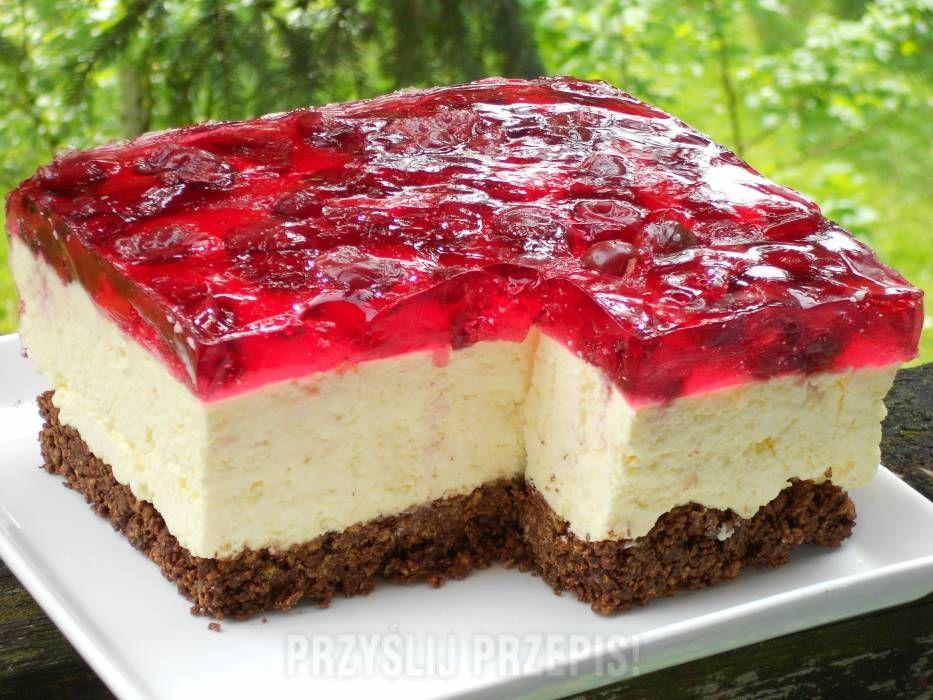 Sernik Na Zimno Recipe Culinary Recipes No Bake Desserts Sweet Cakes