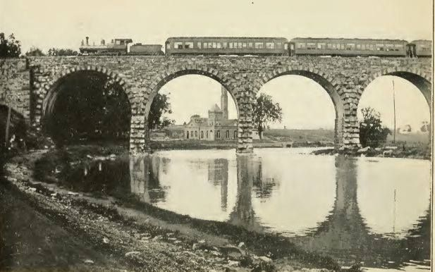 Water Works Train Bridge, Walnut St. Lancaster