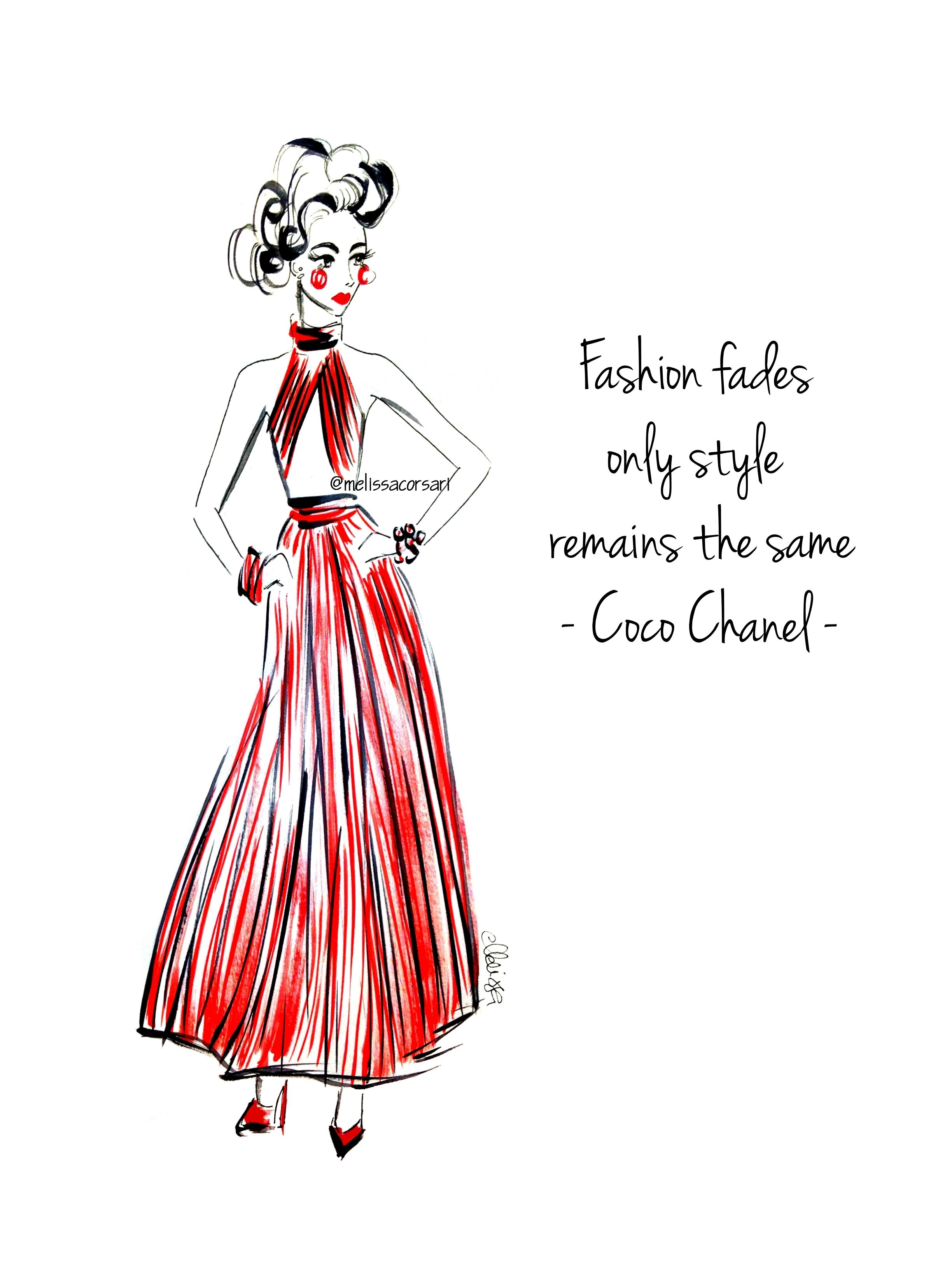 Red dress in stores quotes
