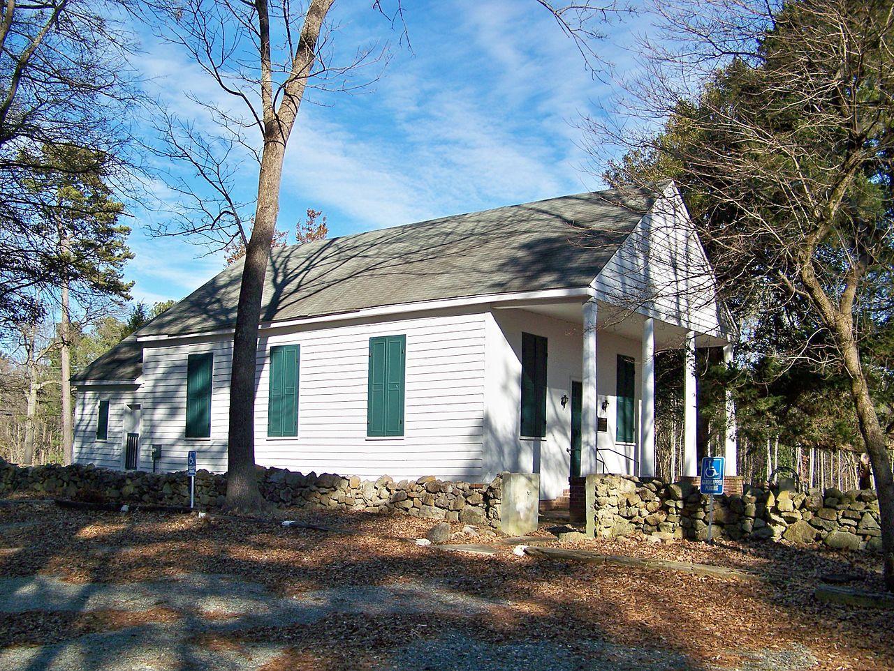 St. Joseph's Catholic Church in Gaston County, North Carolina.