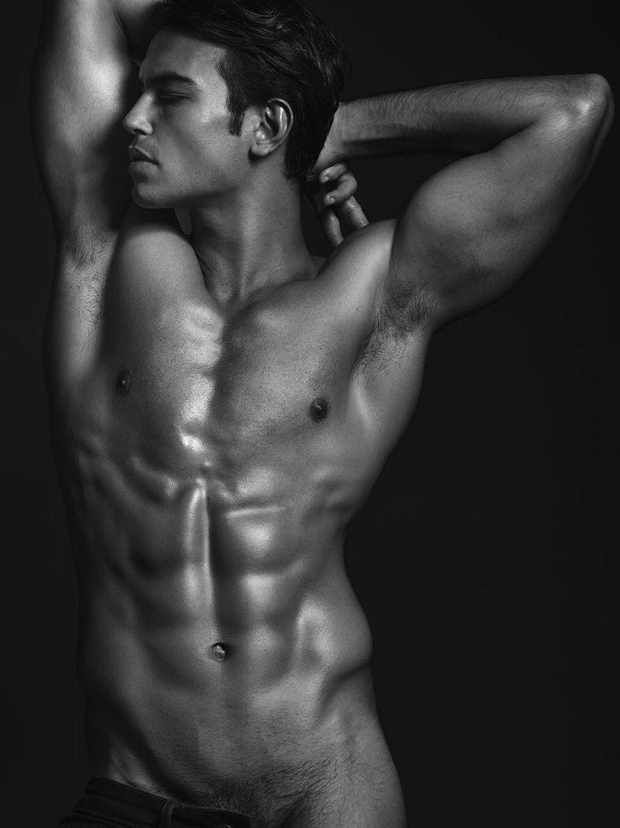 Nackte männliche Kunstmodelle