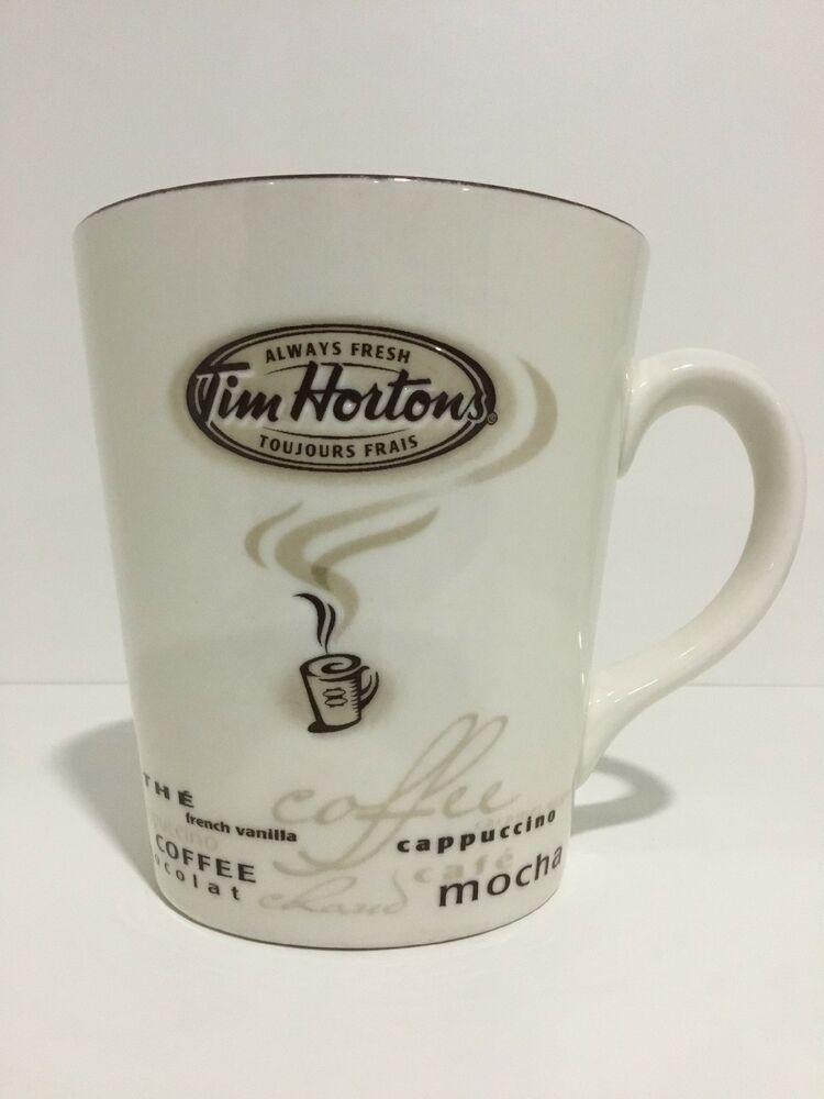 Tim Hortons Ceramic Mug 1964 Bear Limited Edition No.016 2016 Excellent