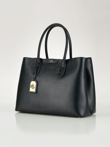 60ecb7ab32a4 Leather Tate City Tote - Lauren Lauren Handbags - RalphLauren.com ...
