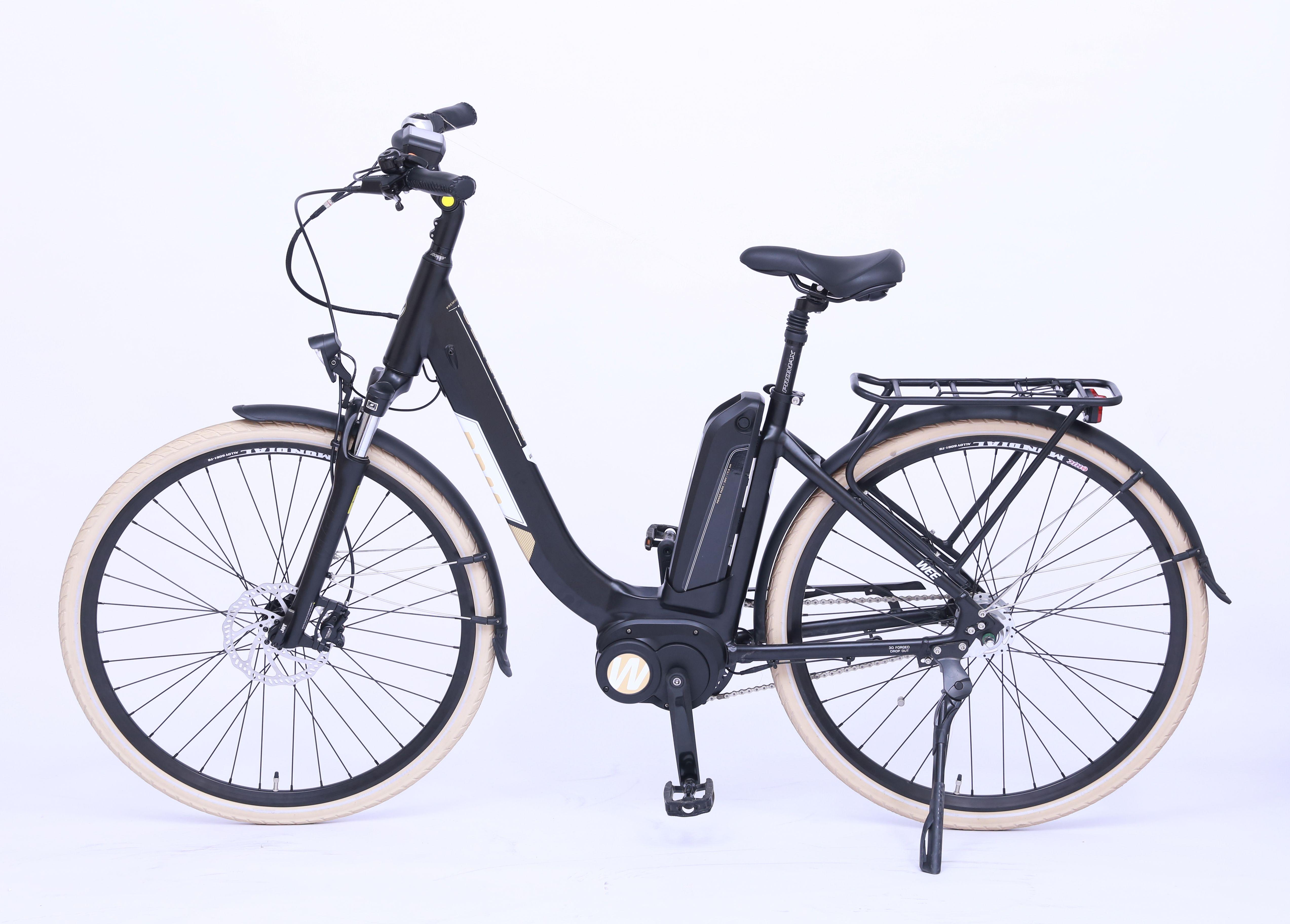 das wee e bike quartz ist ein klassisches city. Black Bedroom Furniture Sets. Home Design Ideas