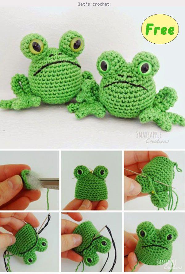 Frog Amigurumi Crochet Free Pattern