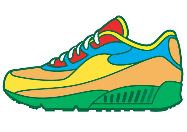 sneaker vector art free vectors pinterest vector art clip art rh pinterest com Vector Graphics Wallpaper Stencil Vector Art Graphics