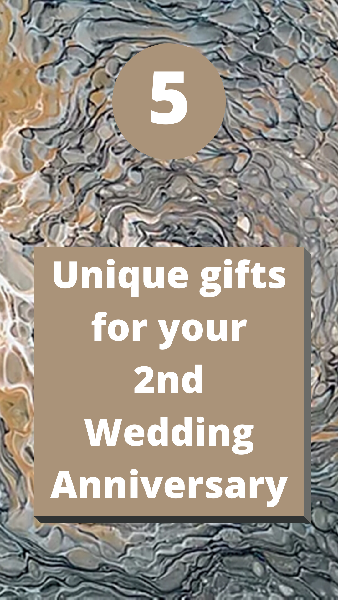 5 Unique Gift Ideas For Your 2nd Wedding Anniversary in