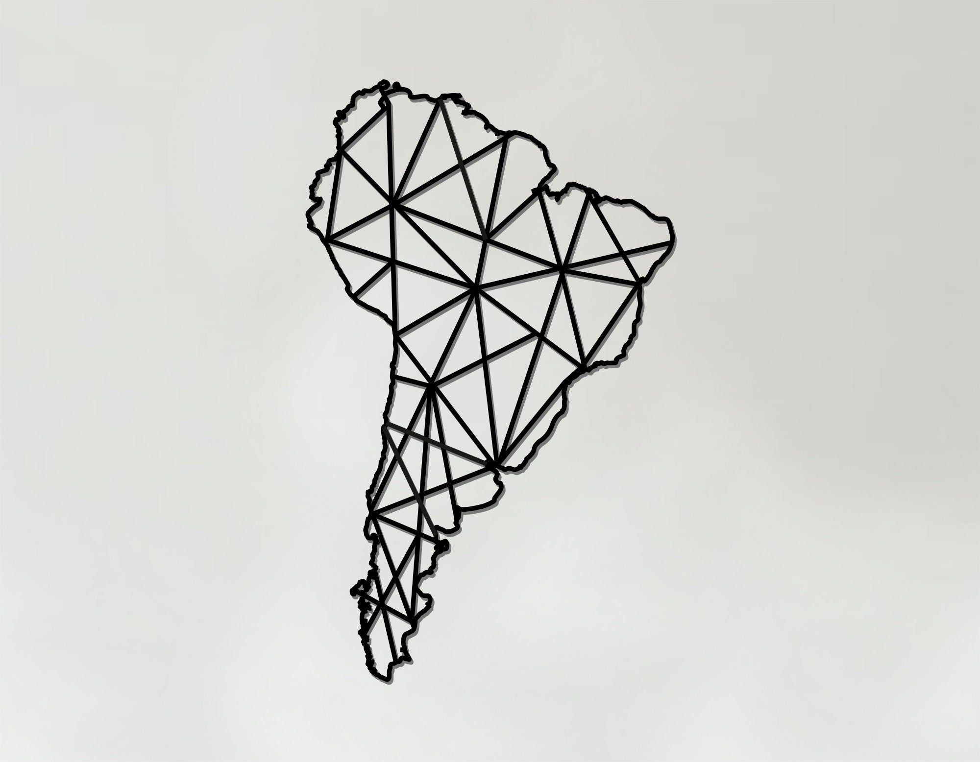 Geometric South America Lasaris Geometric America Art South America