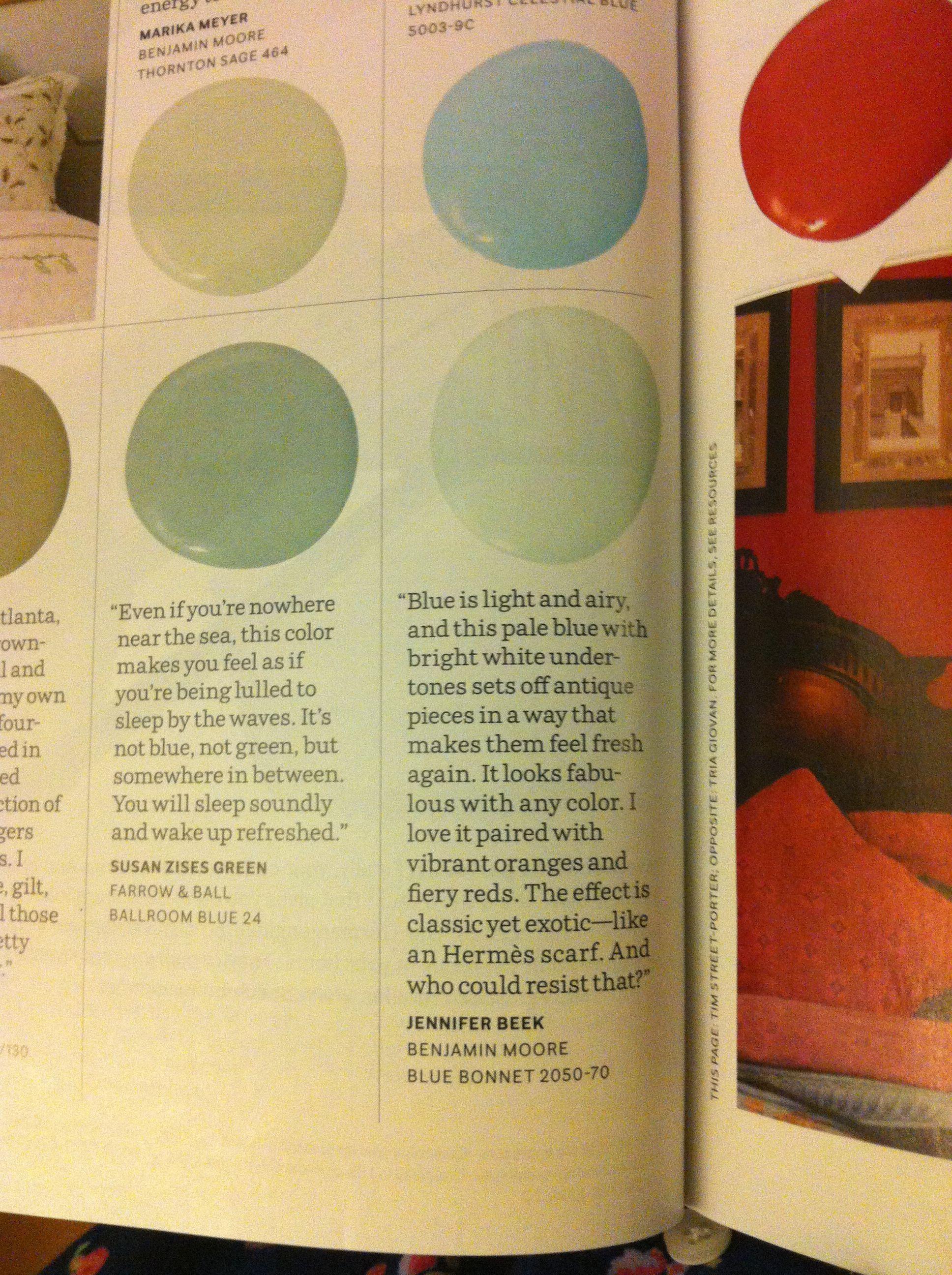 Benjamin Moore Blue Bonnet | Decorating | Pinterest | Benjamin moore ...