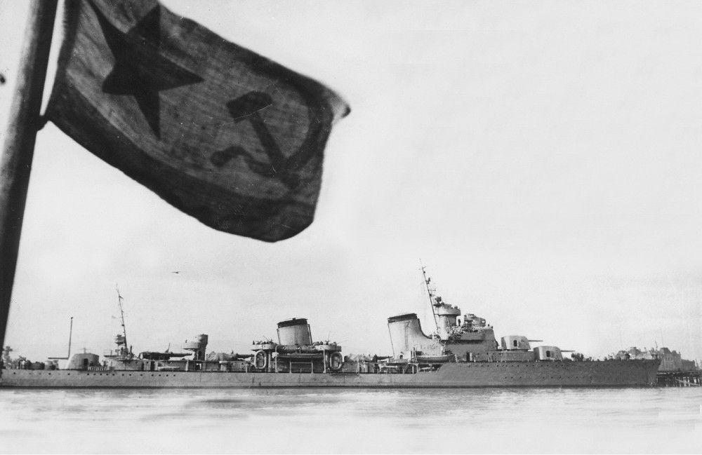 Soviet Destroyer Leader Tashkent Of Project 20
