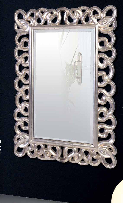 Espejo Rectangular Espejo De Cristal Espejo De Dise O Cl Sico  # Muebles Giner Y Colomer