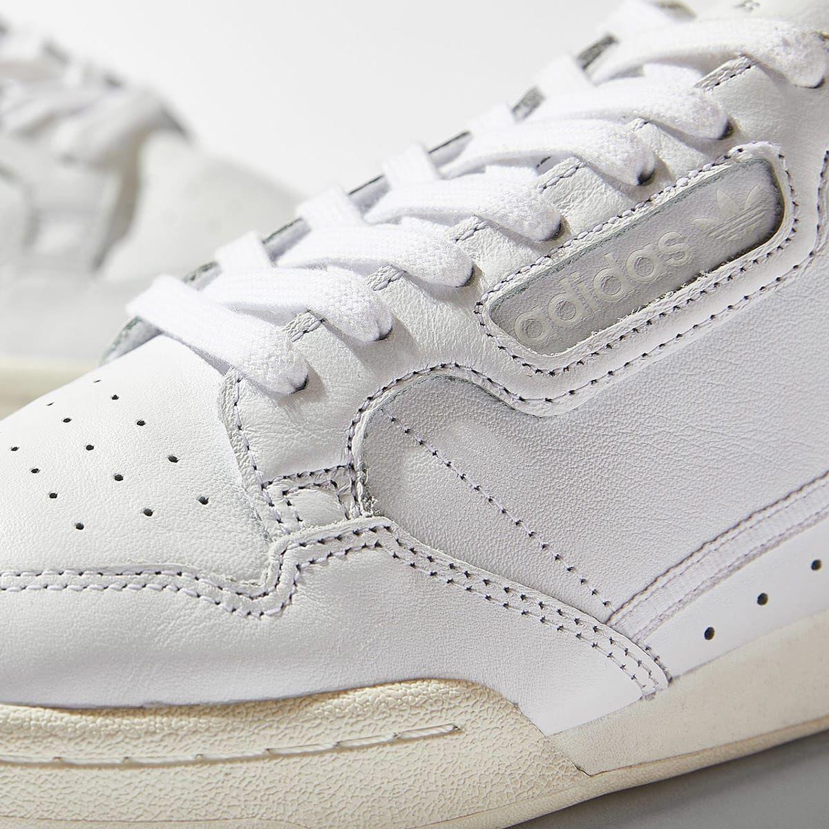 Adidas Continental 80 (White \u0026 Off