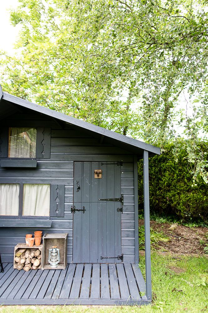 Shed Makeover   From Childrenu0027s Wendy House To Chic Garden Shed