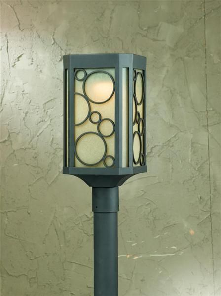 Circles Collection Post Light From Triarch Lighting Post Mount
