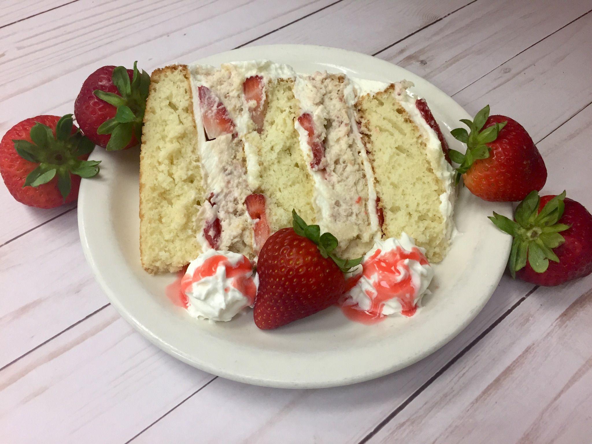 Strawberry Dream Cake Desserts, Homemade desserts, Fun