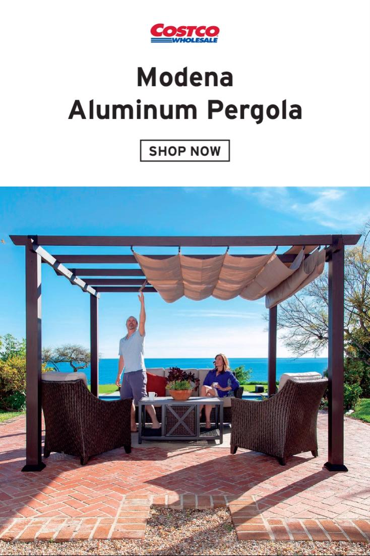 Photo of Modena Aluminum Pergola