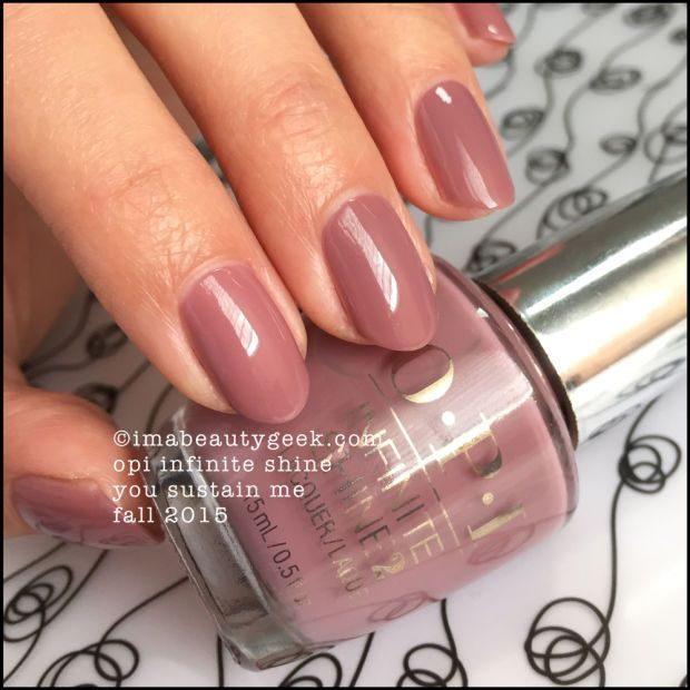 Opi Infinite Shine You Can Count On It Opi Infinite Shine Fall 2015 Gel Nails Opi Gel Nails Nail Colors