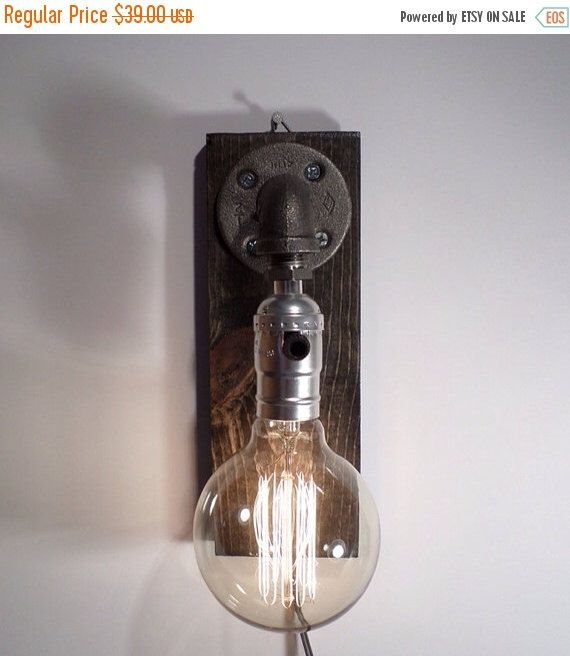 Industrial Lighting - Steampunk Lamp - Table Lamp - Edison Light ...