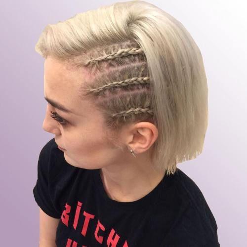 20 Inspiring Beach Hair Ideas For Beautiful Vacation Cornrow Hairstyles Side Cornrows Braids For Short Hair