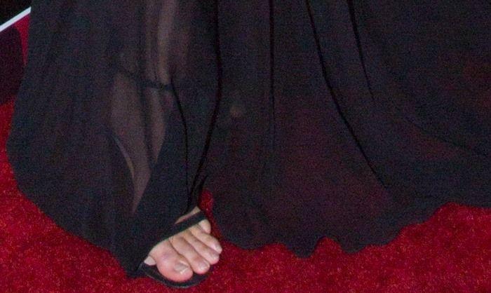 "Kendall Jenner Honors Transgender Dad in Stuart Weitzman ""Nudist"" Sandals"