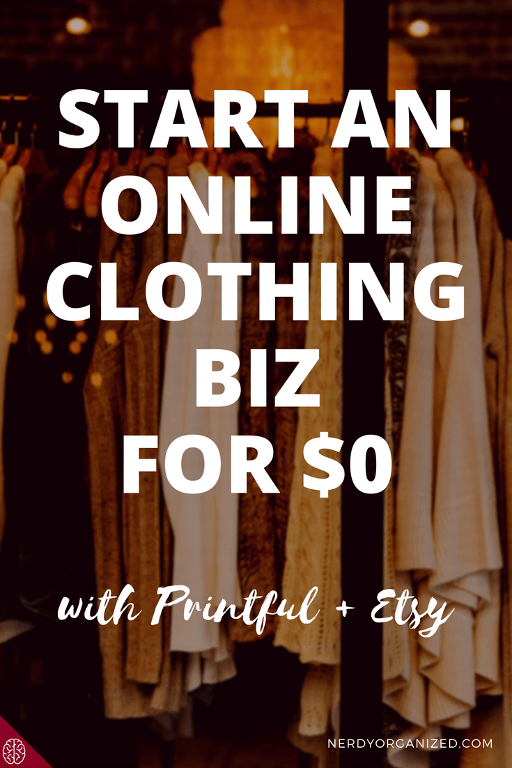 Learn How To Create A Profitable Online Clothing Biz For Free With Etsy And Printful Step By Guide Inside Bonus Enter Win An Item From My