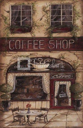 Coffee Shop by Kate McRostie