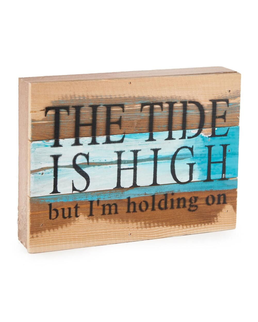 The Tide Is High Wood Wall Art Decorative Accents Home Decor