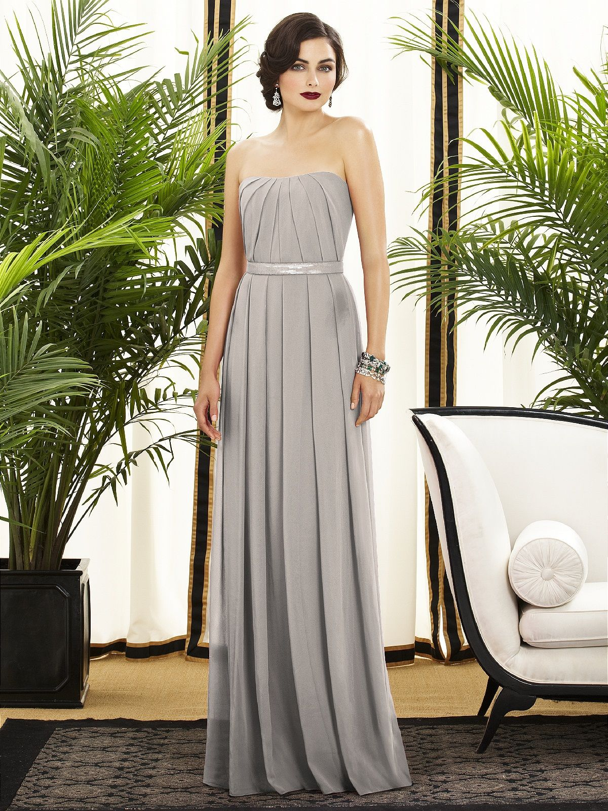 Cheap silver dresses for weddings  Dessy Collection Style   Wedding