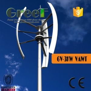 3kw Vertical Wind Generator with Low Rpm for Home Use