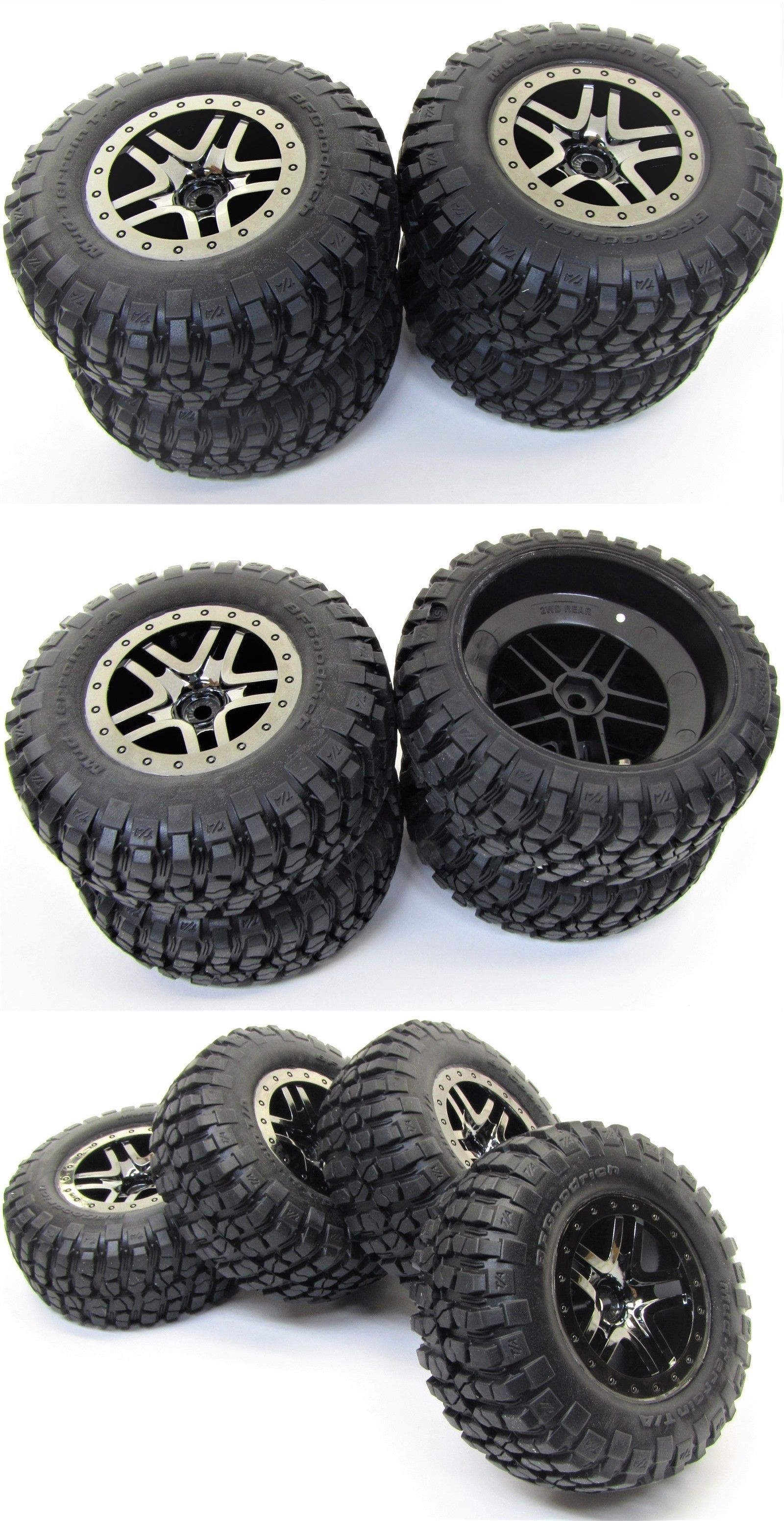 Body Parts and Interior 182203: Slash 4X4 Ultimate Tires