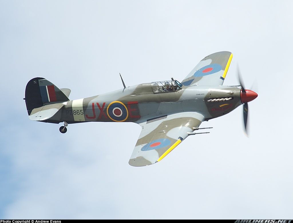 Hawker Hurricane Mk2c Raf Hawker Hurricane Fighter Aircraft Design Wwii Plane Art