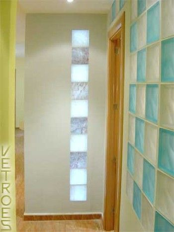 Bloques de vidrio luz buscar con google bathroom - Bloques de cristal ...