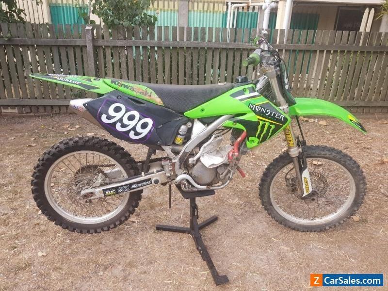 Kx 250f Kawasaki Same As Rmz 250 Suzuki Dirt Trail Motorcross Bike 4
