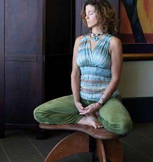 Ergonomic Yoga Chair Folding Rack Soul Seat Designed To End Chronic Pain At Work