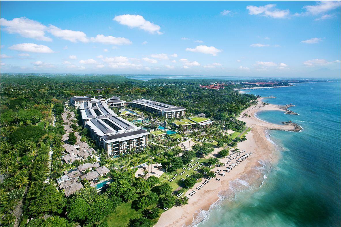 Aerial Shot | Resort Facilities | Pinterest | Bali nusa dua, Resorts ...