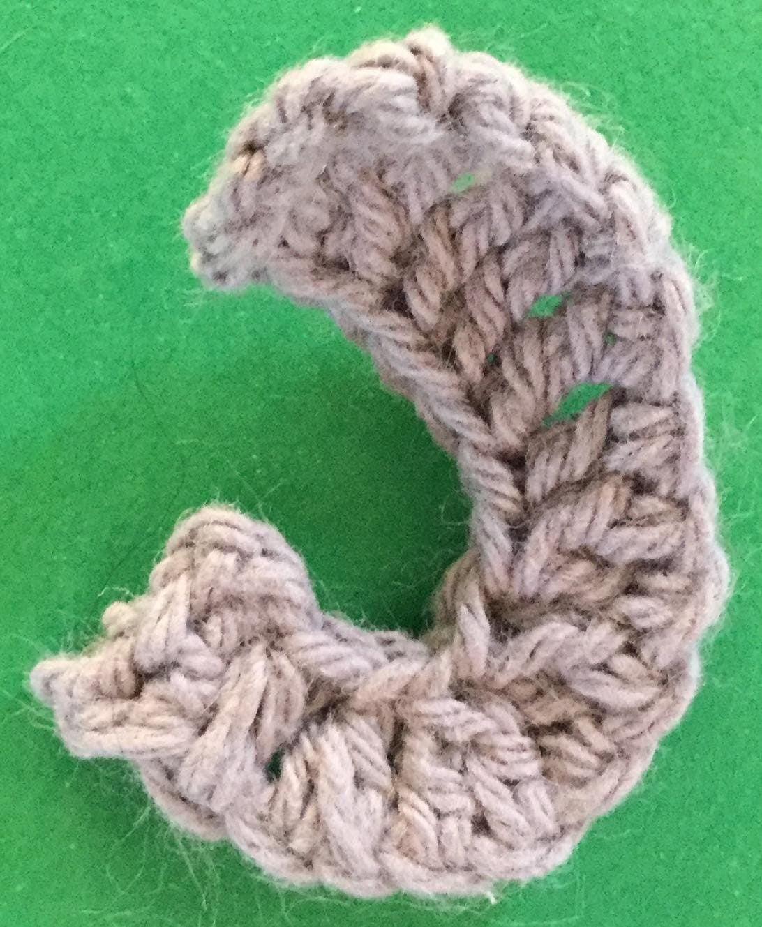 How to crochet an elephant application applique - YouTube | 1329x1092