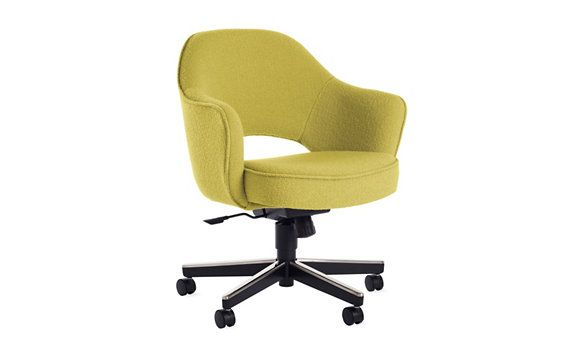 Armchair With Casters: Saarinen Executive Armchair With Casters
