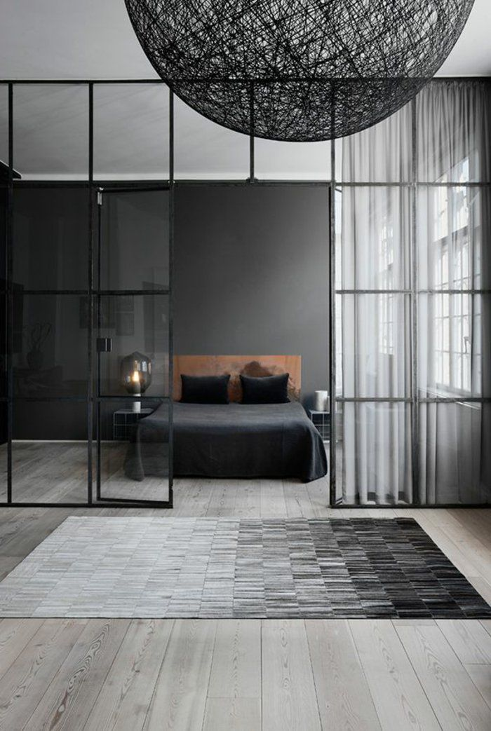 la verri re d int rieur une vraie tendance en 40 images dans la chambre verri re et. Black Bedroom Furniture Sets. Home Design Ideas