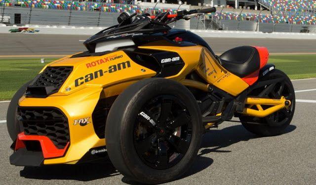 Ottonero Cafe Racer: Can-Am Spyder F3 Turbo Concept