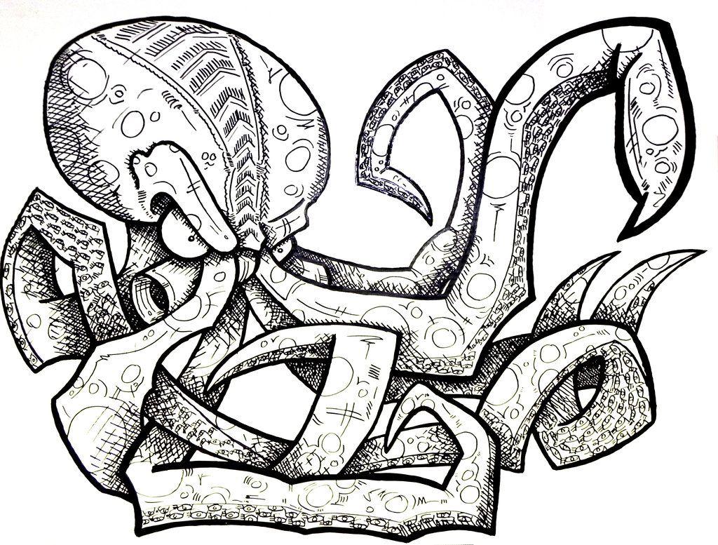 octopus l Mixed Pinterest