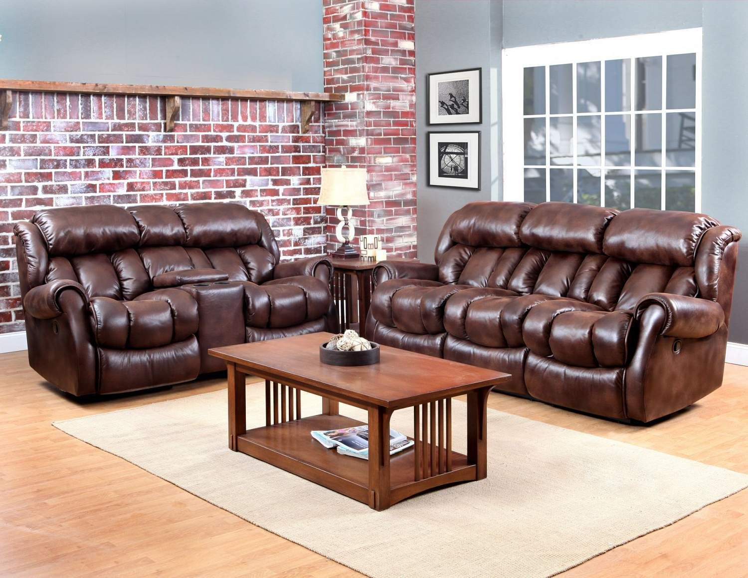Dual Reclining Power Sofa - FFO Home | Couch design ...