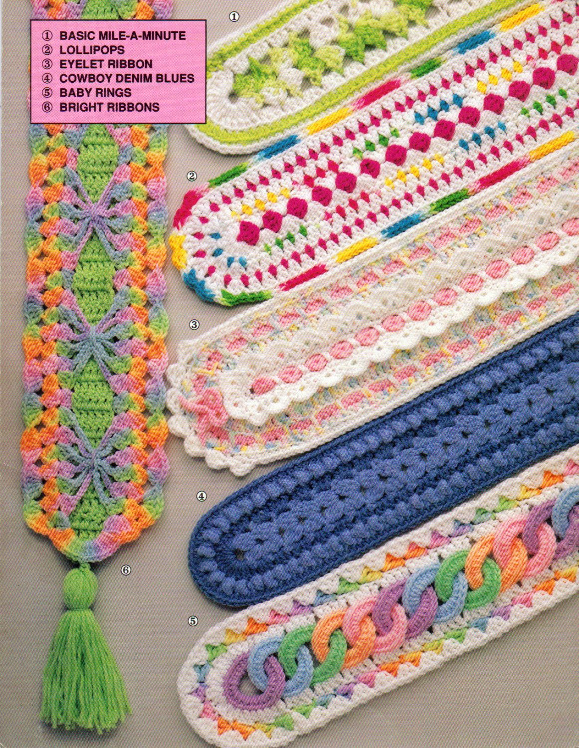 Annie\'s Mile A Minute, Baby Afghans, Patterns to Crochet, Crochet ...