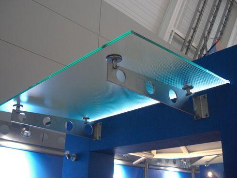 Glasvordach mit LED-beleuchtung | Architektur | Pinterest | Led ...