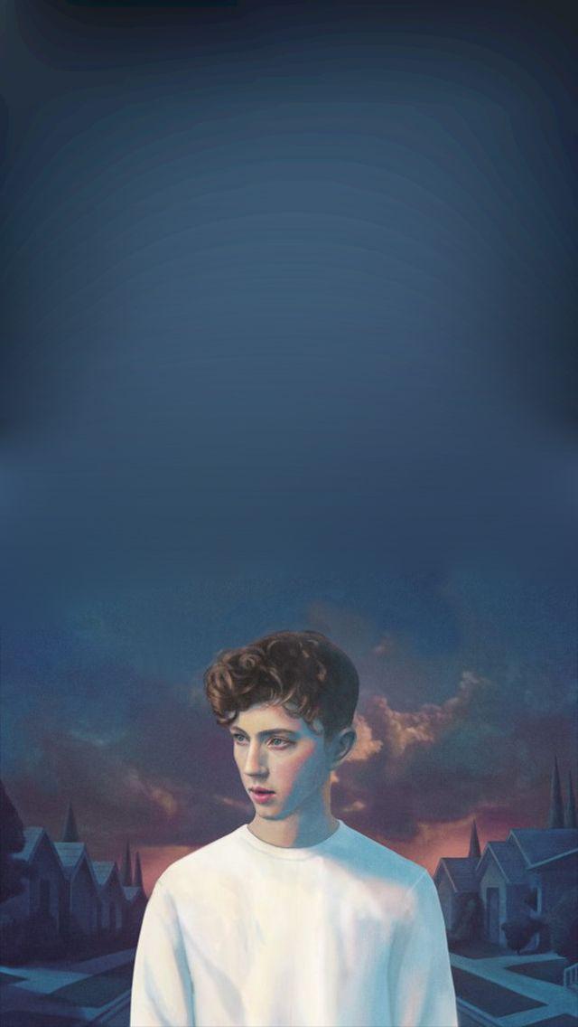 Troye Sivan Mellet Blue Neighborhood Phone Wallpaper