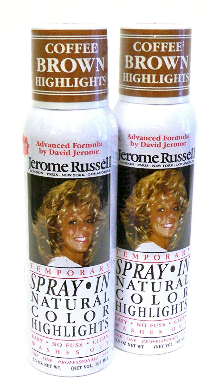 Jerome Russell Hair Color Sprays Natural Color Highlights 35 Oz