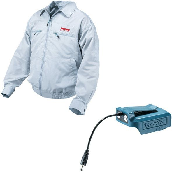 Makita 18v Fan Powered Cooling Jacket Is Exactly What It Sounds