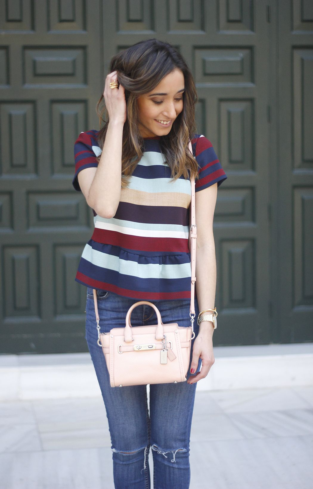 Striped Shirt | BeSugarandSpice - Fashion Blog