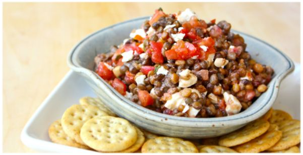 1 Minute Lentil Salad 1 Package TJs Steamed Amp Fully