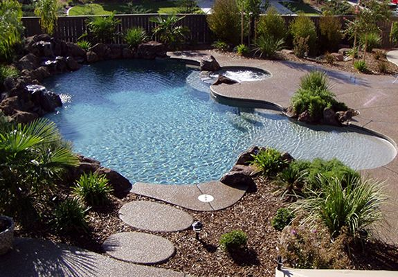 Custom Swimming Pool Contractor Roseville Rocklin Sacramento Courage Pools Inc With Images Custom Swimming Pool Pool Contractors Swimming Pools