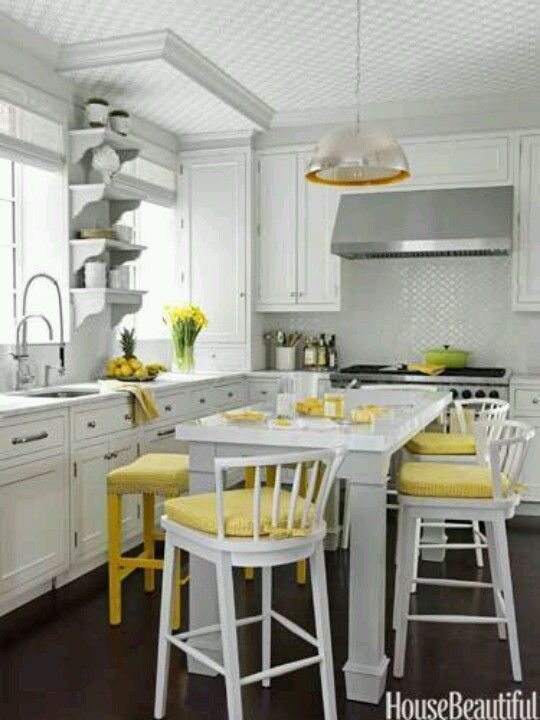 Colorful Kitchen Supplies: Small Kitchen Decor, Yellow